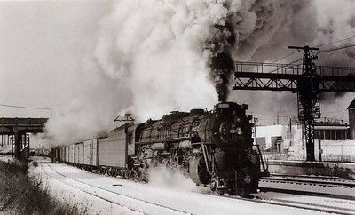 Lima's Last Steam Locomotive (Cleveland - January, 1958)