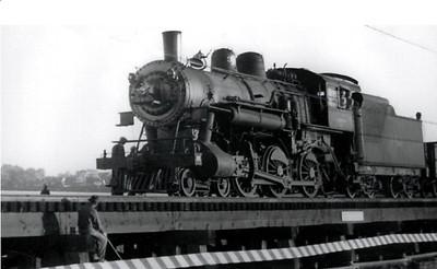 Chicago & Northwestern's R-1 Ten-Wheeler 345