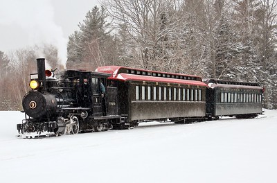 Steaming through the Snow
