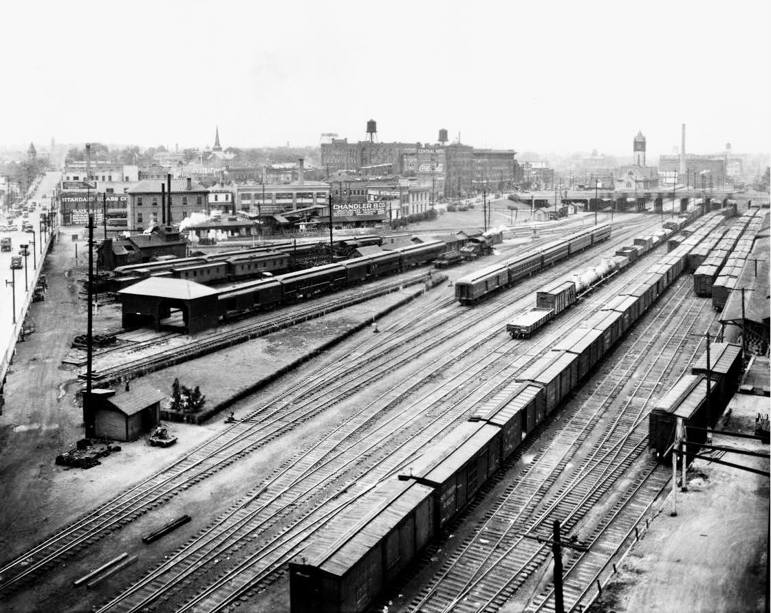 Southern Railway Yard (Knoxville, Tennessee - 1920s)