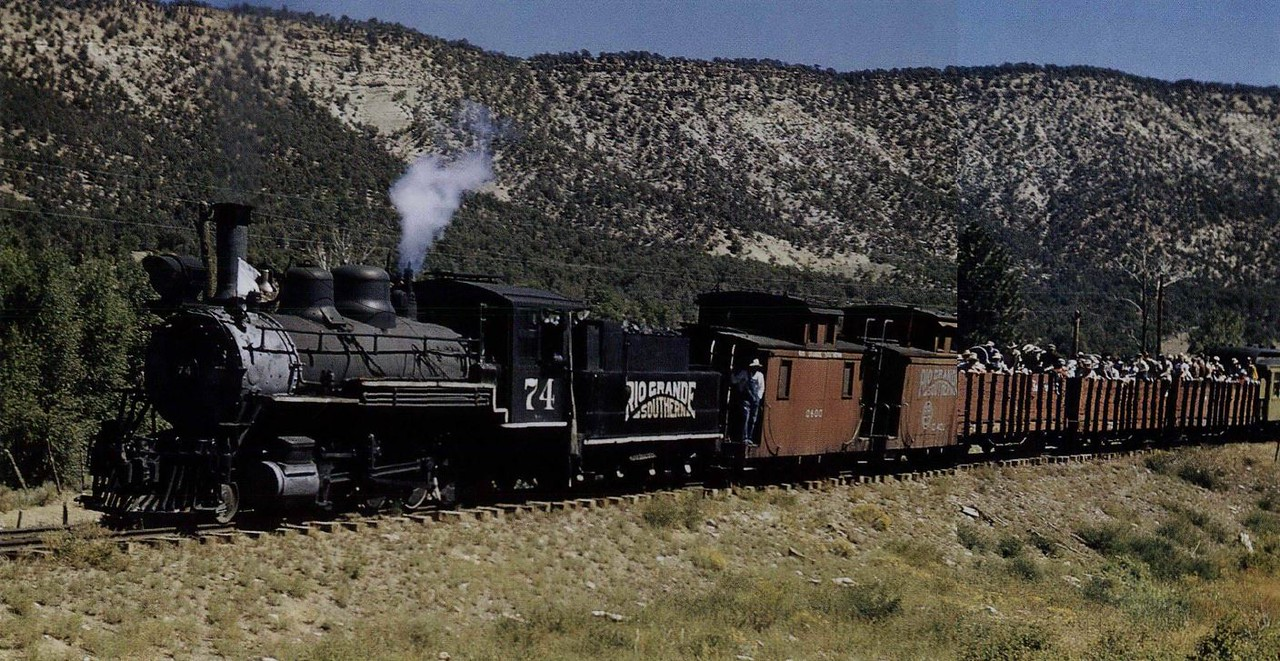 Rio Grande Southern (September, 1951)