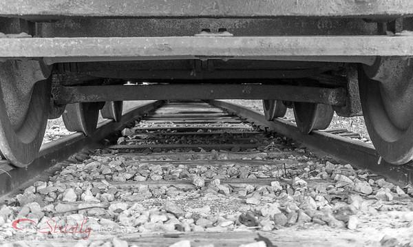 Train underside