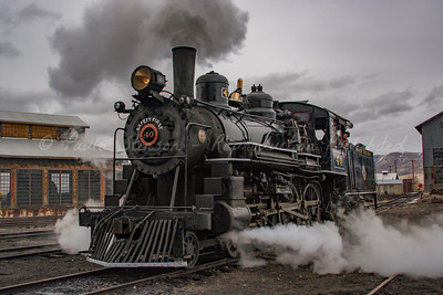 1910 Baldwin Steam Locomotive