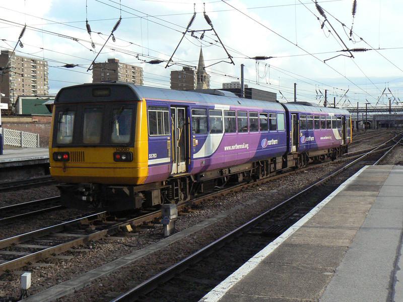 142087 at Doncaster. Saturday 3rd April 2010.