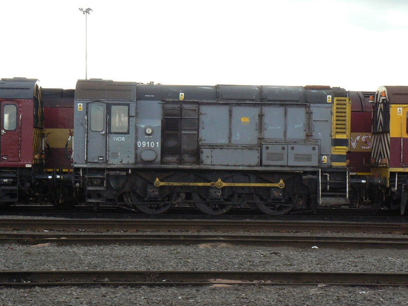 09101 at Doncaster Carr Depot. Saturday 3rd April 2010.