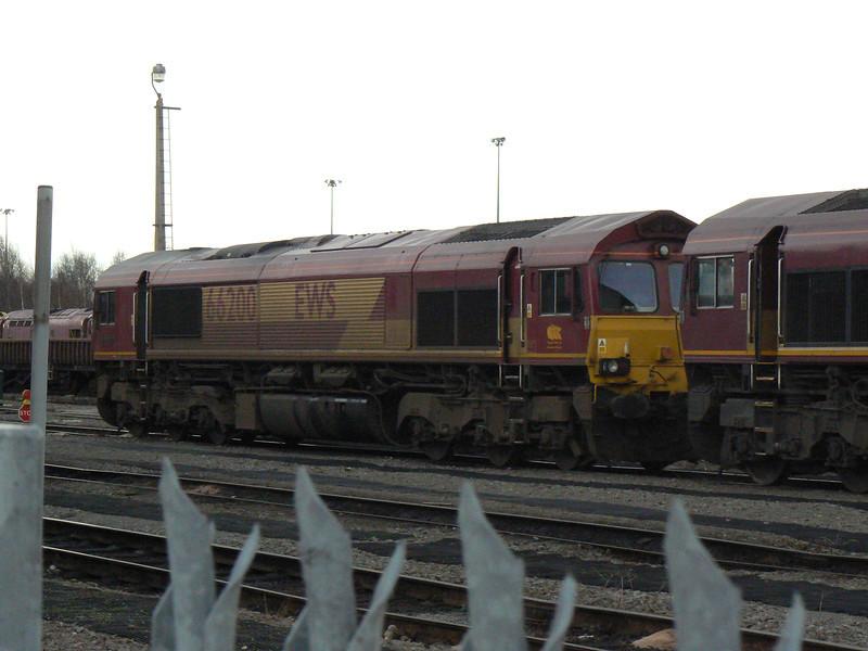 66200 at Doncaster Carr Depot. Saturday 3rd April 2010.