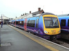 Transpennine Express 170301 at Scunthorpe. Saturday 3rd April 2010.