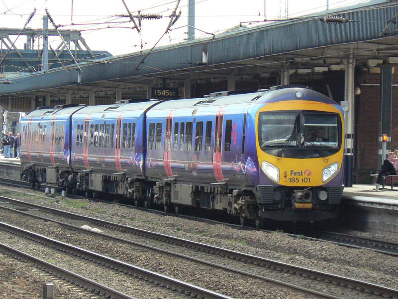 185101 at Doncaster. Saturday 3rd April 2010.