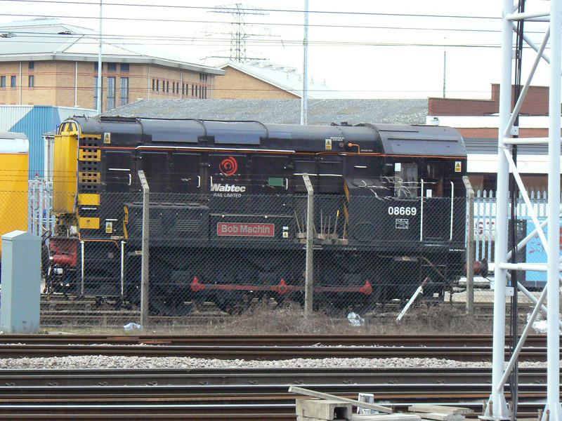 08669 at Doncaster Wabtec. Saturday 3rd April 2010.