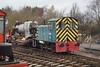 Robert Stephenson & Hawthorn RSHD 8157 'D2298' at Buckinghamshire Railway Centre. Sunday 6th December 2015.