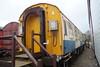 Electrification coach 99017 at Buckinghamshire Railway Centre. Sunday 6th December 2015.