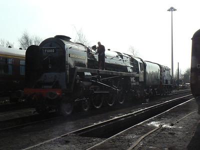 East Lancs Railway Diesel Weekend 2-4 March 2012