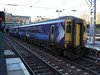 New Scotrail liveried 156442 arrives at Edinburgh Waverley. 10th February 2011.