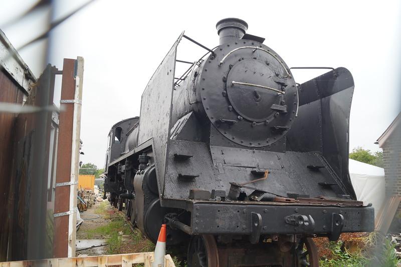 Finnish Lokomo LO 172 '1060' at Ongar  on the Epping - Ongar Railway. Saturday 13th June 2015.