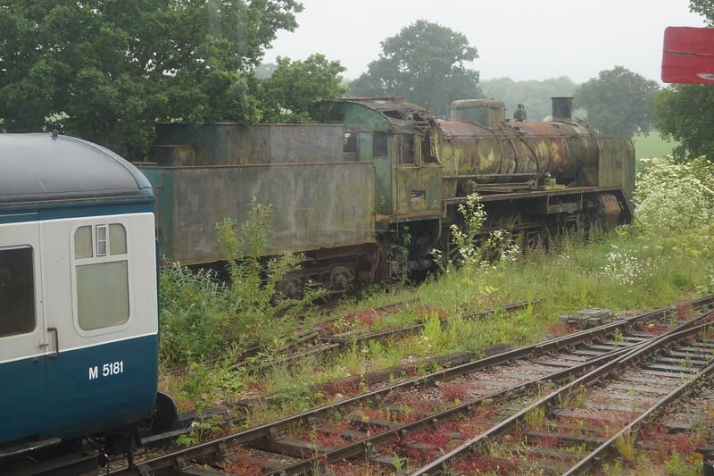 Finnish Lokomo LO 157 '1008' at Ongar on the Epping - Ongar Railway. Saturday 13th June 2015.