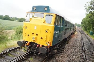 Epping - Ongar Railway 13th June 2015