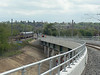 The new Hitchin Flyover walk. 11th May 2013.