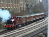 Another view of Metropolitan No.1 heading for Kensington Olympia. Sunday 13th January 2013.