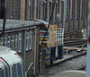Schoma LUL diesel loco 11 'Joan' at Lillie Bridge depot. Sunday 13th January 2013.
