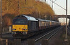 Royal 67005 brings up the rear of 1Z50 Kings Cross to Stocksbridge Works UK Railtour at Knebworth. Sat 28th December 2013
