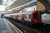 Mat Line S8 Stock 21109 at Farringdon. Sunday 13th April 2014.