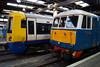 The old and the new at Euston, 86259 alongside 378227. Sunday 13th April 2014.