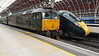 57602 'Restormel Castle' having brought in the Western Sleeper from Penzance at Paddington. Tuesday 17th April 2018.