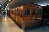 Metropolitan Railway coach 400 at the London Transport Museum, Covent Garden. Sunday 8th June 2014.
