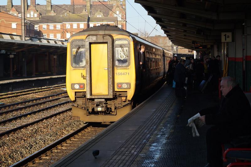 156471 at Preston. Monday 29th December 2014.