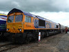 GBRf's 66736 at Railfest at the National Railway Museum, 4th June 2012