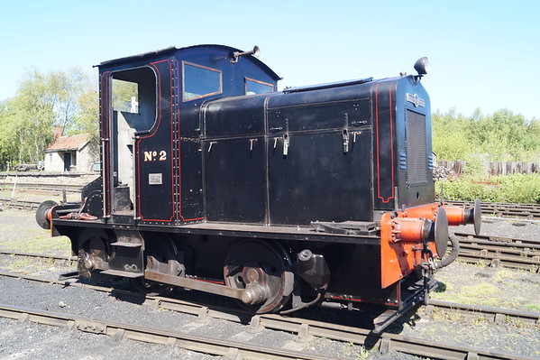 Whitworth AW D22 'No.2' at the Tanfield Railway. Monday 14th May 2018.