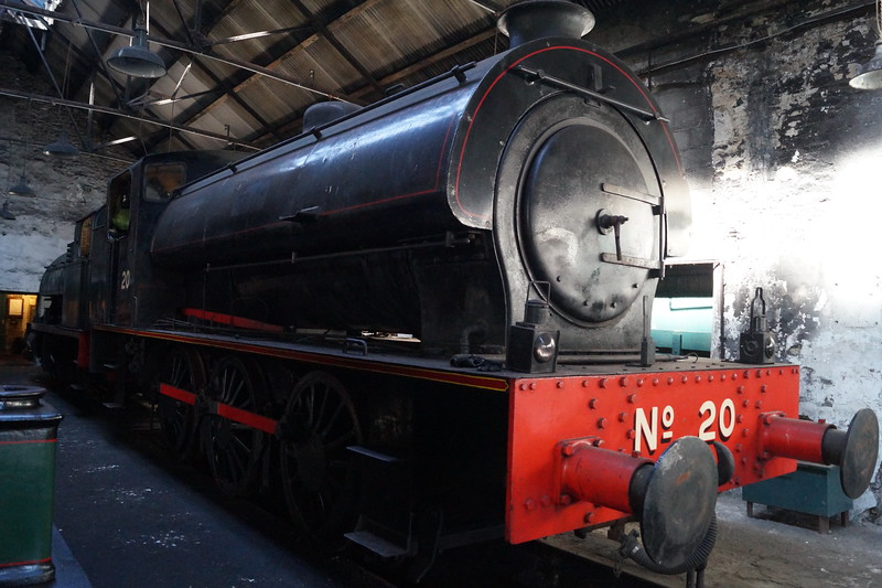 WG Bagnall WB 2779 'No 20' at the Tanfield Railway. Monday 14th May 2018.