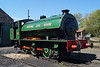 Robert Stephenson & Hawthorns RSHN 7098 '49' at the Tanfield Railway. Monday 14th May 2018.