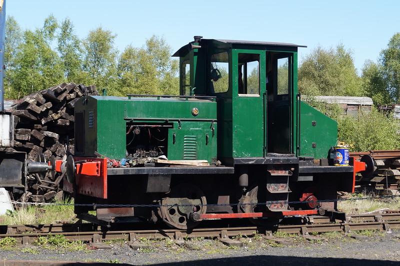 Robert Stephenson & Hawthorns RSHN 7901 at the Tanfield Railway. Monday 14th May 2018.