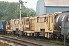 Stoneblowers 80200 and 80204 at the Mid Norfolk Railway. 11th July 2014.