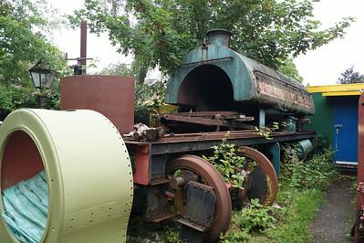 North & Mid Norfolk Railways, Bressingham, July 2014