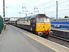 Northern Belle liveried 47832 brings up the rear of 1Z31 at Peterborough. Wednesday 10th July 2013.