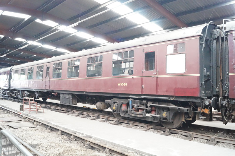 Coach 5036 at Ribble Steam Railway. Saturday 23rd June 2018.