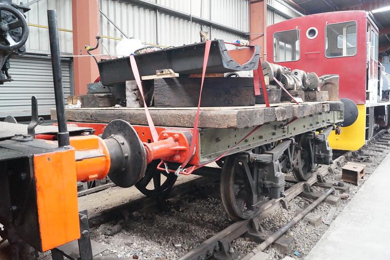 A short wagon at Ribble Steam Railway. Saturday 23rd June 2018.