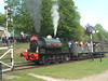 Another view of 'No. 31' Hudswell Clarke HC 1026 at the Fawley Hill Steam and Vintage weekend event. 19th May 2013.