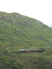 44871 approaches Glenfinnan viaduct with the afternoon Jacobite steam service from Fort William to Mallaig. 14/07/11