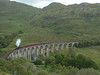 44871 on the famous curved Glenfinnan viaduct with the afternoon Jacobite steam service from Fort William to Mallaig. 14/07/11