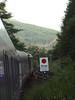 67030 departs Upper Tyndrum with 1B01 Edinburgh - Fort William sleeper. 14/07/11
