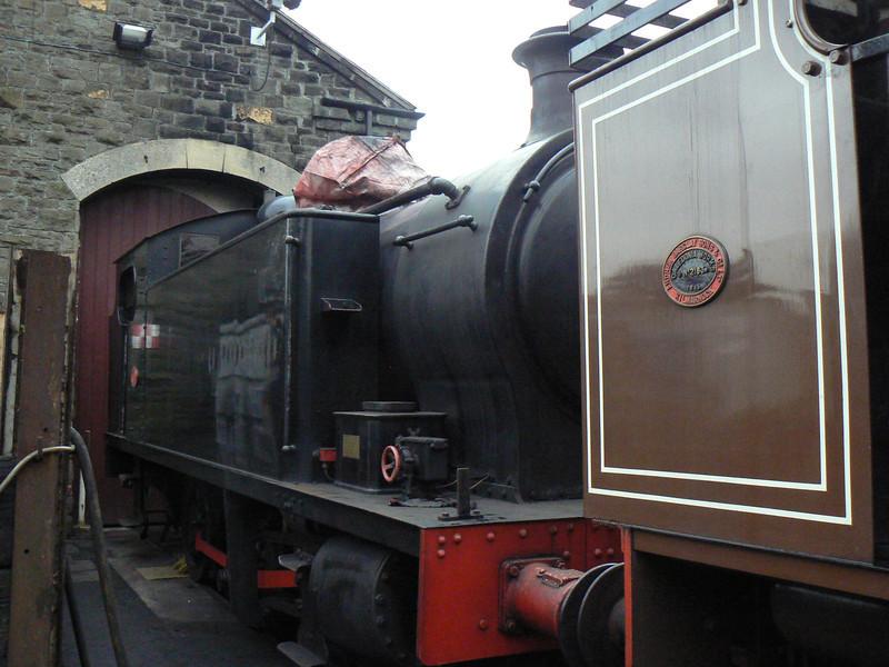 Robert Stephenson & Hawthorn RSHN 7151 is seen at the Avon Valley Railway, Bitton. Saturday 13th April 2013.