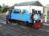 1 'Thomas', a 1992 Winson rebuild from the Bure Valley Railway, at the Romney, Hythe & Dymchurch Railway. Sun 1st July 2012.