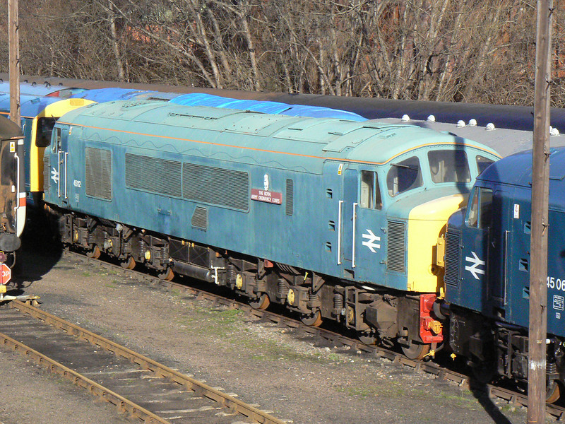 45112 at Barrow Hill Roundhouse. Saturday 30th January 2010.