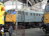 81002 at Barrow Hill Roundhouse. Saturday 30th January 2010.