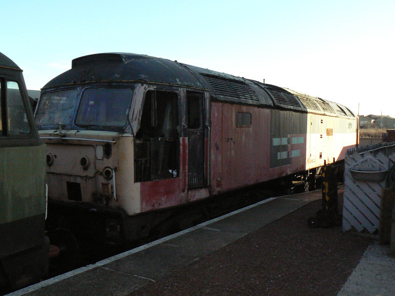 47707 at Barrow Hill Roundhouse. Saturday 30th January 2010.