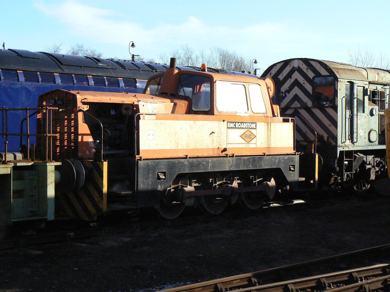 HAB 6459 RMC at Barrow Hill Roundhouse. Saturday 30th January 2010.