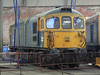 33108 at Barrow Hill Roundhouse. Saturday 30th January 2010.